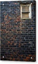 Alley Window Acrylic Print