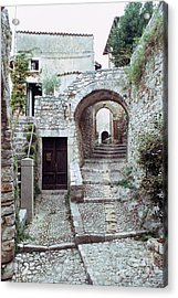Alley With Arches Acrylic Print