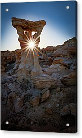 Allien's Throne Acrylic Print by Edgars Erglis