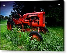Allis Chalmers Tractor Acrylic Print