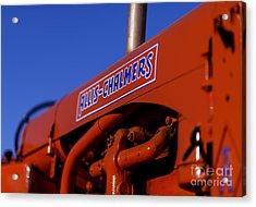 Allis-chalmers Vintage Tractor Acrylic Print