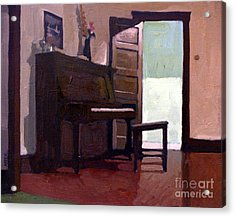 Allison's Piano Acrylic Print by Donald Maier