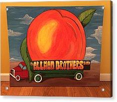 Allman Brothers Eat A Peach Acrylic Print