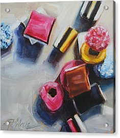 Allsorts Acrylic Print by Tracy Male