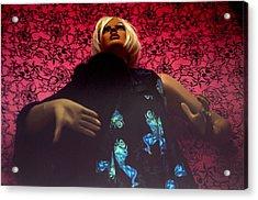 Allyson Acrylic Print by Jez C Self
