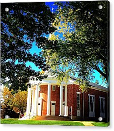 Alma College Dunning Memorial Chapel Acrylic Print