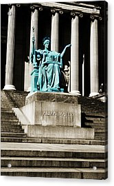Alma Mater Acrylic Print by Marilyn Hunt