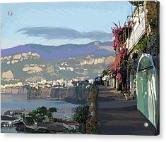 Almalfi Coast Acrylic Print