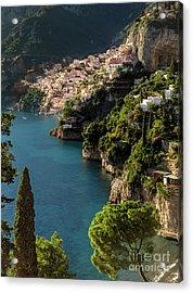 Almalfi Coast Acrylic Print by Brian Jannsen