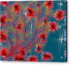 Almog-corall Tree Acrylic Print by Dr Loifer Vladimir