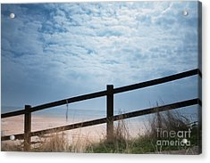 Acrylic Print featuring the photograph Almost At The Beach by Jan Bickerton