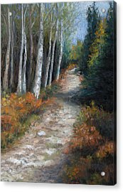 Almost Autumn Acrylic Print by Susan Jenkins