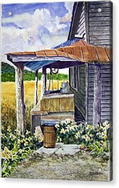 Almost Indoor Plumbing  Sold Acrylic Print
