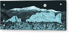 Almost Night Time  Acrylic Print