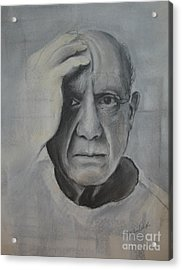 Almost Picasso Acrylic Print