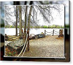 Almost Spring At Lafayette Lake Acrylic Print