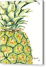 Aloha Again Acrylic Print by Marsha Elliott