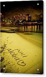 Ami Aloha Aulani Disney Resort And Spa Hawaii Collection Art Acrylic Print