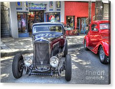 Aloha Cars And Pinups Acrylic Print