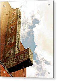 Aloha Theatre Acrylic Print