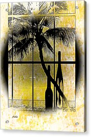 Acrylic Print featuring the photograph Aloha,from The Island by Athala Carole Bruckner