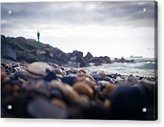 Acrylic Print featuring the photograph Alone by April Reppucci