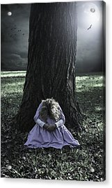 Alone At Night Acrylic Print by Joana Kruse