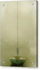 Alone Acrylic Print by Clyde Replogle