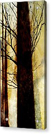 Acrylic Print featuring the digital art Alone I Stand by Ken Walker