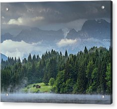 Alone In German Alps Acrylic Print