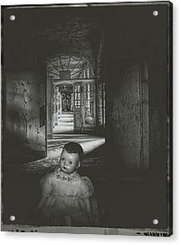 Alone In The Dark Acrylic Print by Cindy Nunn