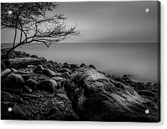 Alone On Spanish Banks Acrylic Print
