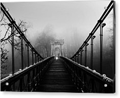 Alone-series Acrylic Print by Catalin Alexandru