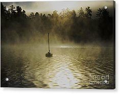 Alone Acrylic Print by Sherman Perry