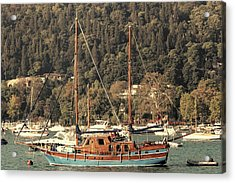 Acrylic Print featuring the photograph Along The Bosphorus-istanbul by Tom Prendergast
