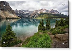 Along Icefields Parkway Acrylic Print