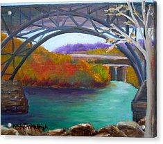 Along Kelly Drive Acrylic Print by Marita McVeigh