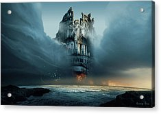 Along Ruined Soul Acrylic Print by George Grie