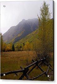 Along The Alpine Loop Acrylic Print by Marty Koch