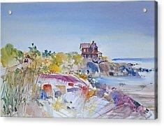 Along The Coast Acrylic Print