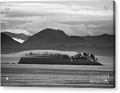 Acrylic Print featuring the photograph Along The Inland Passage by Stan and Anne Foster