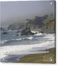 Along The Pacific #2 Acrylic Print