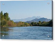 Along The Verde River 10 Acrylic Print by Susan Heller