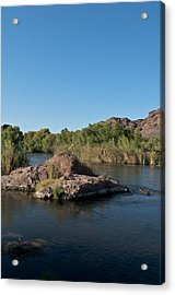 Along The Verde River 13 Acrylic Print by Susan Heller
