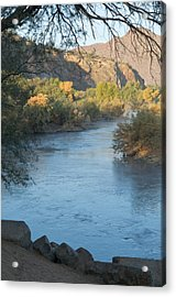 Along The Verde River 2 Acrylic Print by Susan Heller