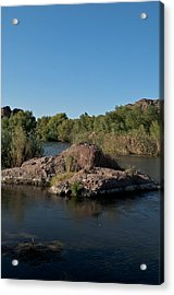 Along The Verde River 3 Acrylic Print by Susan Heller