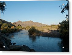 Along The Verde River 4 Acrylic Print by Susan Heller