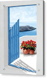 Along The Way - Prints From My Original Oil Painting Acrylic Print