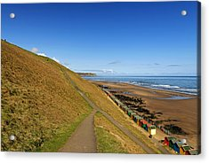 Along The West Cliff - Whitby Acrylic Print