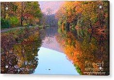 Along These Autumn Days Acrylic Print